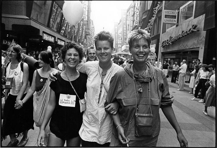1983 – Frauen-Friedensmarsch von Dortmund nach Brüssel